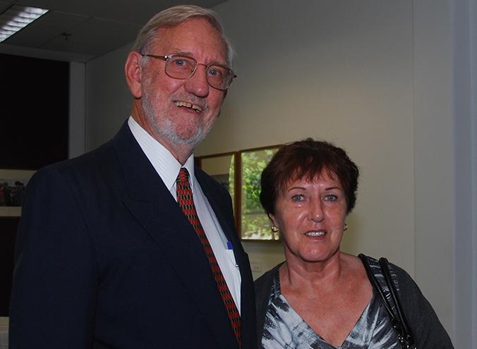 Geoff Bowland and Aunty Susan (Sue Barry)