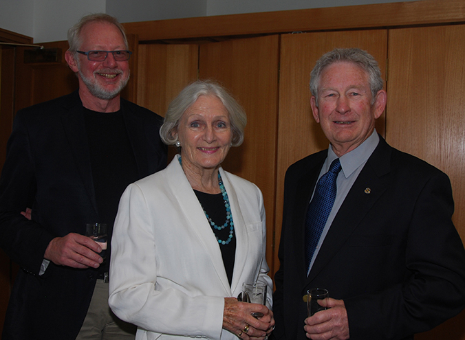 Mads Gaarddoe, June O'Donnell and Graham French