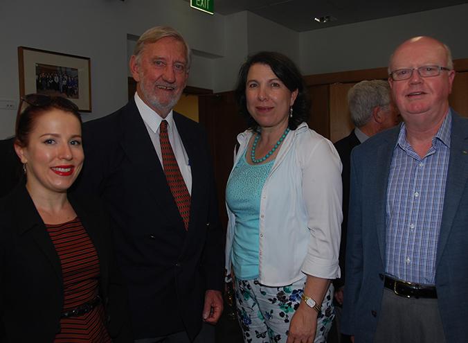 Rachel Smith, Geoff Bowland, Vesna Strika and Rolfe Hartley
