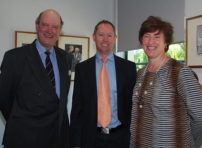 Richard Lawson, Mark Sands and Elanza Barnard
