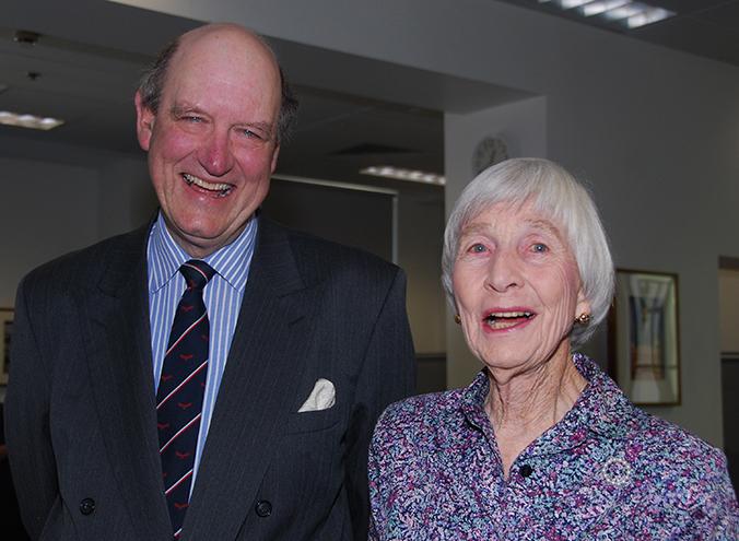 Richard Lawson and Heather Henderson