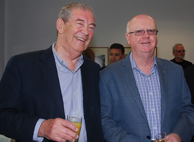 Roger Pegrum and Rolfe Hartley