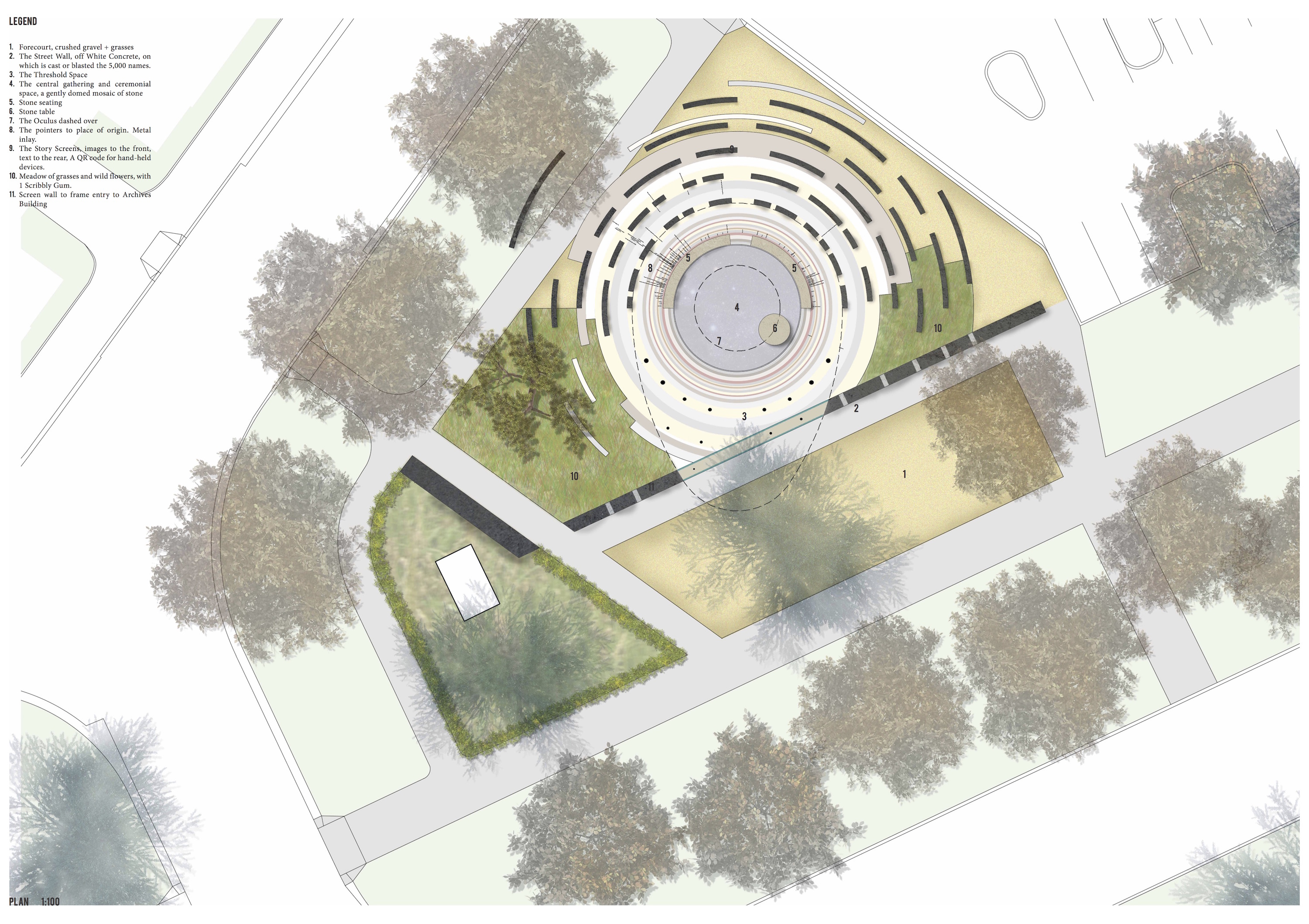 Competition winner announced immigration place for List of landscape architects