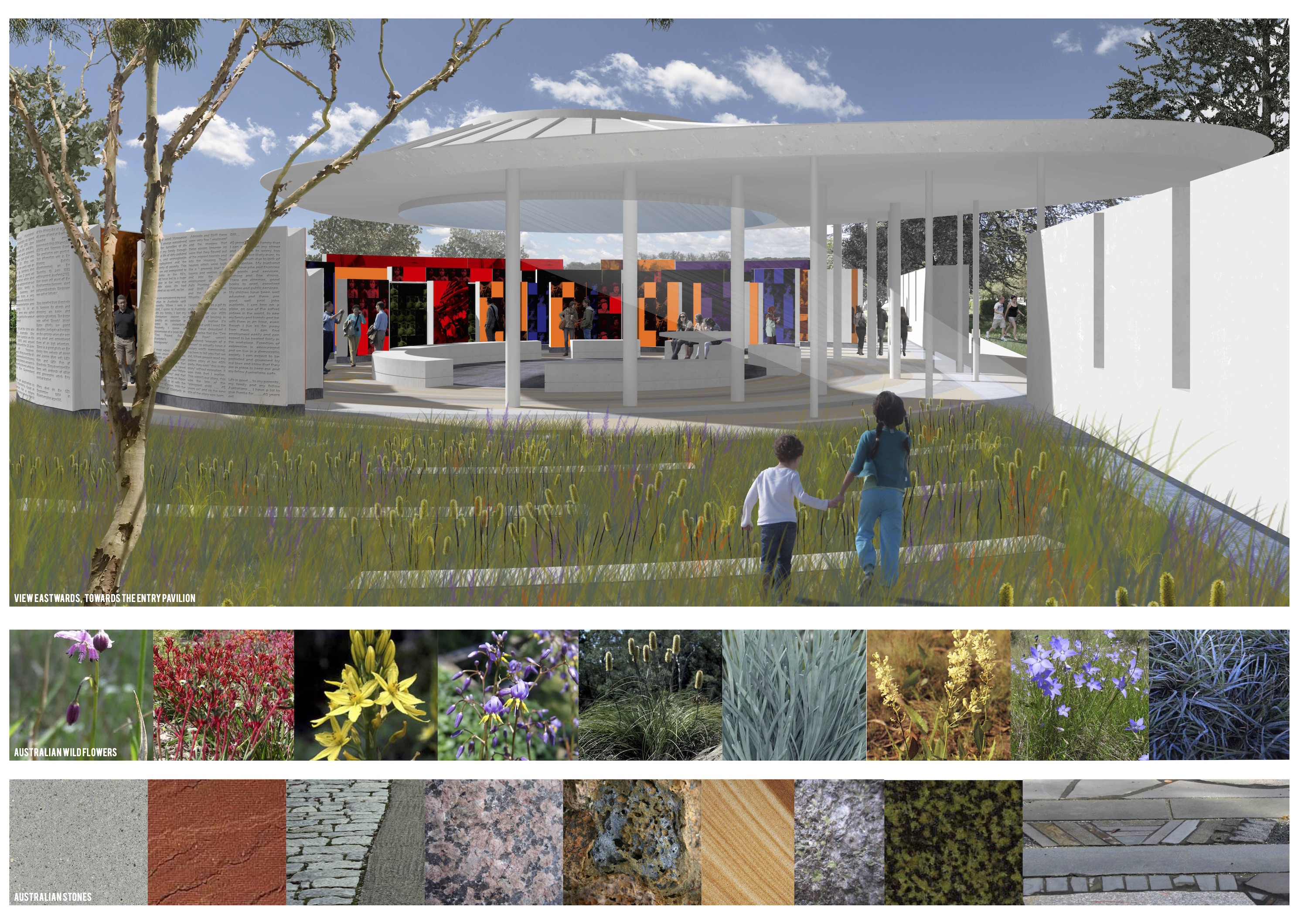 Competition winner announced immigration place for Place landscape architecture