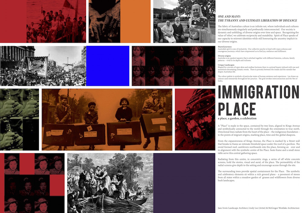 JILA Immigration Place Presentation Board 1
